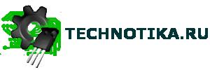 "Логотип Technotika.ru с надписью ""TECHNOTIKA"""