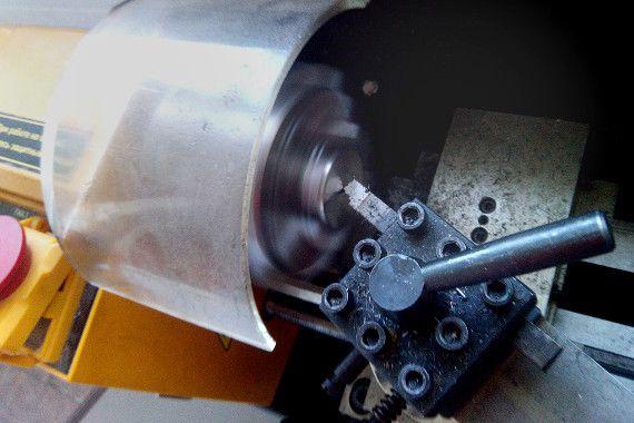 Обработка детали на малогабаритном токарном станке